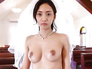 Cute chinese bride