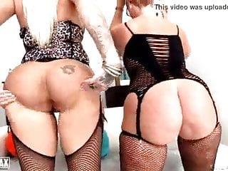 Two big asses