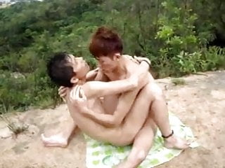 Hot chinese outdoors...