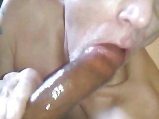 me sucking on cornells big black cock pt2