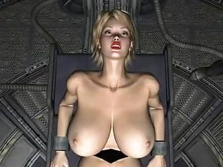 Spatial 3D Fiction  Blond Science Slave