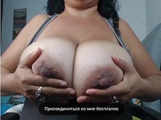 Mom nipples massage...