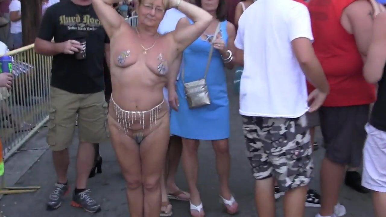 Granny Public Nude