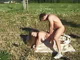 German whore fuck and squirt outdoor in all positions