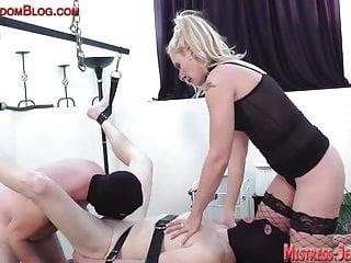 Cock suck pussy worship foot fetish...