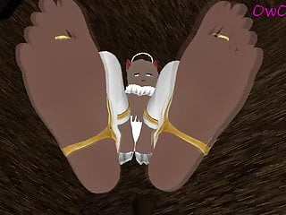 Worship my perfect feet (Pov and moaning) VRchat