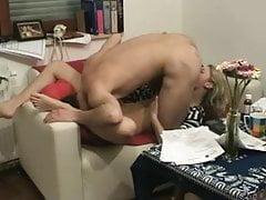 Sexy Slut Cheating Wife Rides Lover Dick Hidden Cam