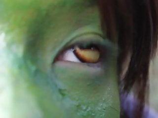 Stark naked japanese fat frog lady swamp hd...