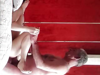 Orgasms and gets her pussy creamed...