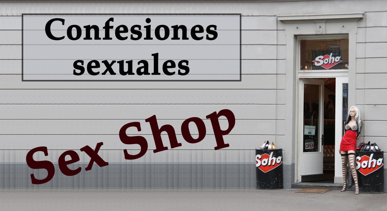 Camarera y propietario de un Sex shop. Spanish audio.