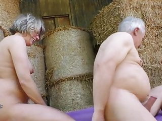 amateur fucking elderly farmers next to cowsPorn Videos