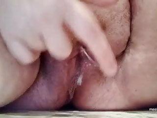 Bbw anal dildo with creamy cum