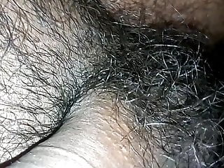 Getting arousals semi erected dick hairy ball sex...