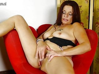 Naughty american housewife playing with her and pussy...