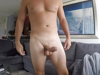 Sean Lawless Gets His Massive Cock Out