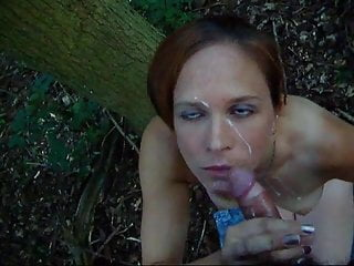 Cousin blows small dick in forest – cim