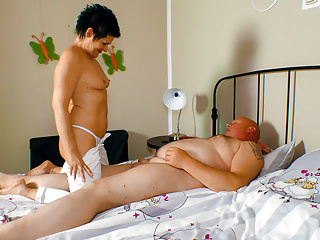 AMATEUR EURO - Horny German Granny Wants To Fuck With Hubby