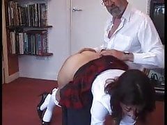 sexy student being spanked otk part 2Porn Videos