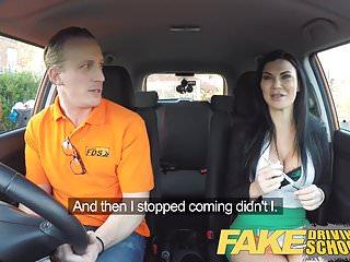 Fake Driving School Studente maschio che scopa la sua esaminatrice