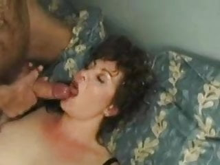 Chunky gets facial during anal...