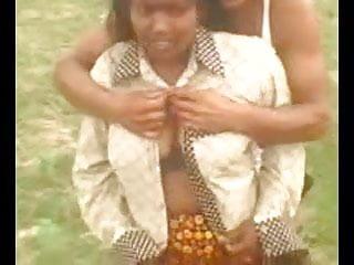 Aunty captured outdoor part 4...