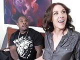Black Cock Slut Katie Angel Fucks In Front Of Her Son