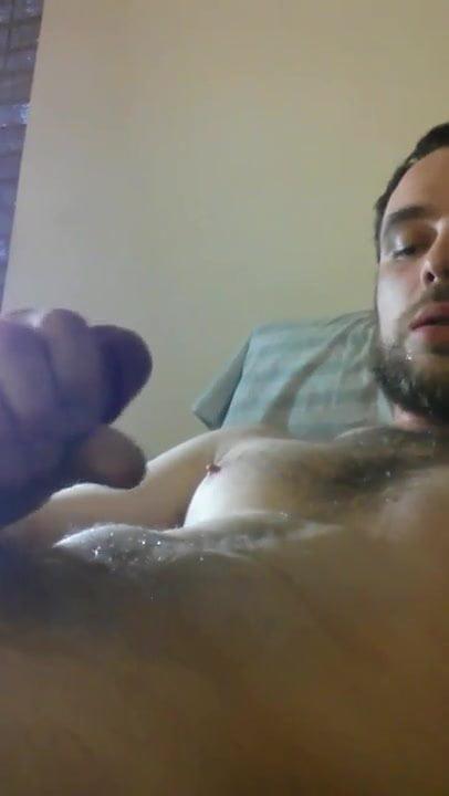 Amateur Busty Handjob Cum Tits