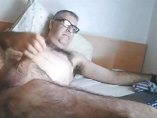 Hairy spanish daddy cam...