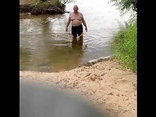 Old friend having fun on the James river.