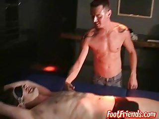 Andrew gets tickled by sexy dude cristopher...