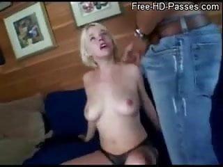 Slutty Blonde Blowjob