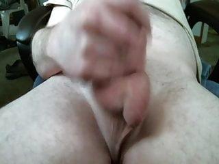 Cumshot closeup