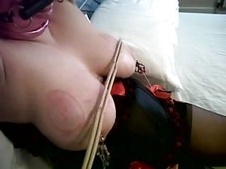 Scottish slut Sarah loving tit use !