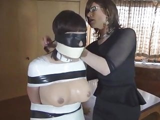 rubber doll bondageHD Sex Videos