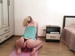 yoga and masturbation at home