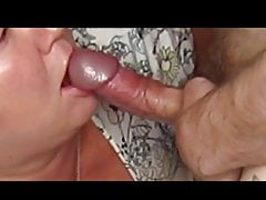 mother-in-law loves to suck cock in front of the camera