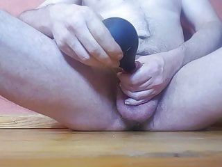 Torture with pear of enema...
