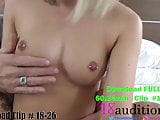 Compilation #6 - 18auditons.com -  Real Amateur Creampies
