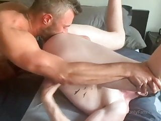 Ginger twinl fucked by hot daddy