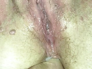 Wagtail007 cum soaked pussy fingered...