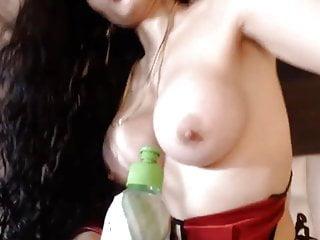 Booty comlombian model orgasm