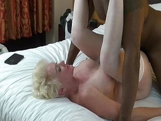 Granny Gets Stretched By Black Man