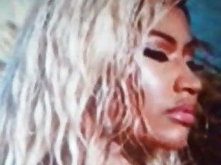 Tribute cumshot for Nicki Minaj