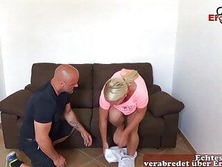 German big tits blonde Gina Blonde at amateur Sex