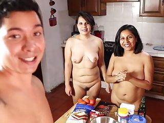 Pizza Nudist Friends Pizza Au Naturel