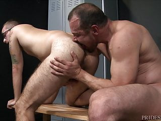 Max sargent gives gym partner his thick meaty...