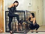 Russian FemDom humiliation and training slave