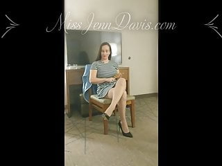 Spanking Pov Brunette video: Come Here Young Man