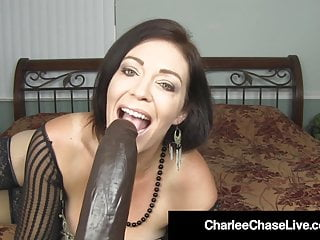 Top Heavy Milf Charlee Chase Stretches Her Mature Muff