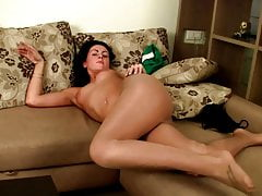 Teens with beautiful legs in tights are shagging and sucking
